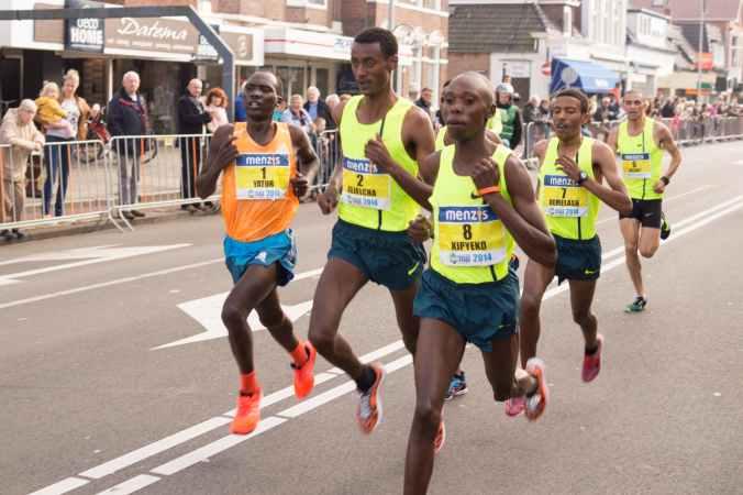 jogger jogging sport marathon